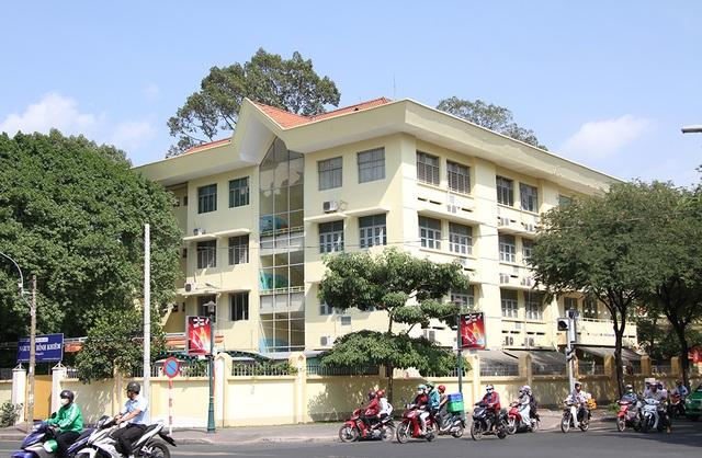 Trường Tiểu học Nguyễn Bỉnh Khiêm nằm ở trung tâm TPHCM thời gian qua xuất hiện nhiều đợt rung lắc bất thường