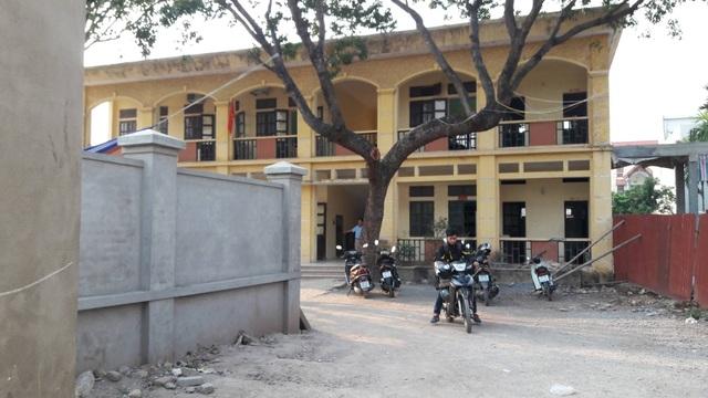 Trường THCS Hòa Nam (ảnh: Đình Cường)