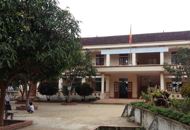 Trường Tiểu học Diên Lãm nơi xảy ra sự việc (ảnh Huệ Nguyễn)