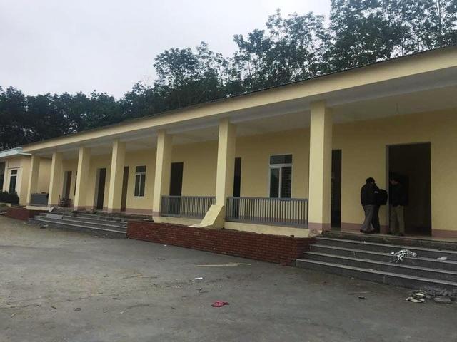 Công trình trường tiểu học xã Xuân Qùy