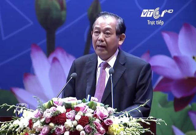 """Phó Thủ tướng Trương Hòa Bình: Chính phủ sẽ thực hiện công khai minh bạch các chủ trương, chính sách; chống tiêu cực, ngăn chặn các quan hệ """"sân sau"""" thao túng chính sách để trục lợi"""