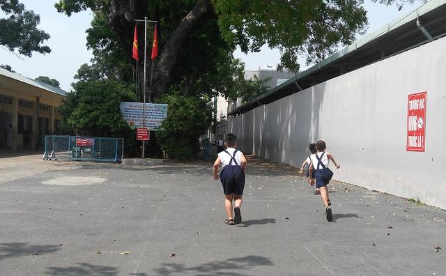 Trường tiểu học Lương Thế Vinh (quận Thủ Đức, TPHCM) - nơi xảy ra nghi án học trò lớp 1 bị xâm hại tại trường