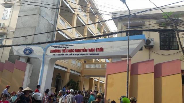 Trường tiểu học Nguyễn Văn Trỗi (TP Thanh Hóa) - nơi phụ huynh băn khoăn nhiều khoản thu.
