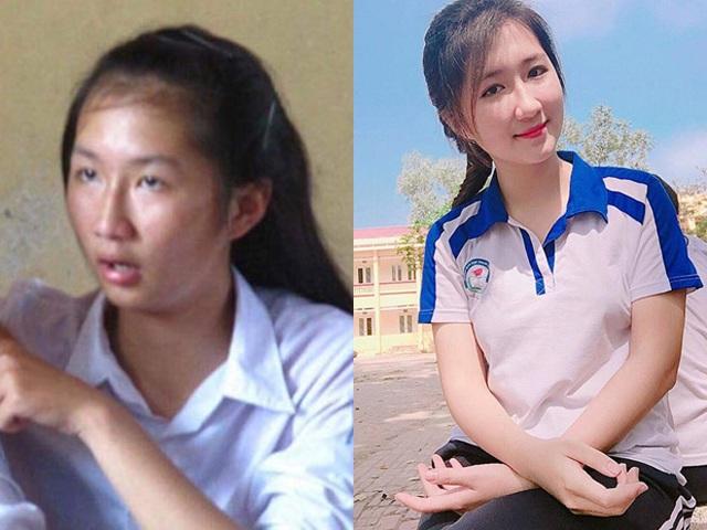 Hình ảnh trước và sau 5 năm của Thùy Diệu khiến nhiều người giật mình