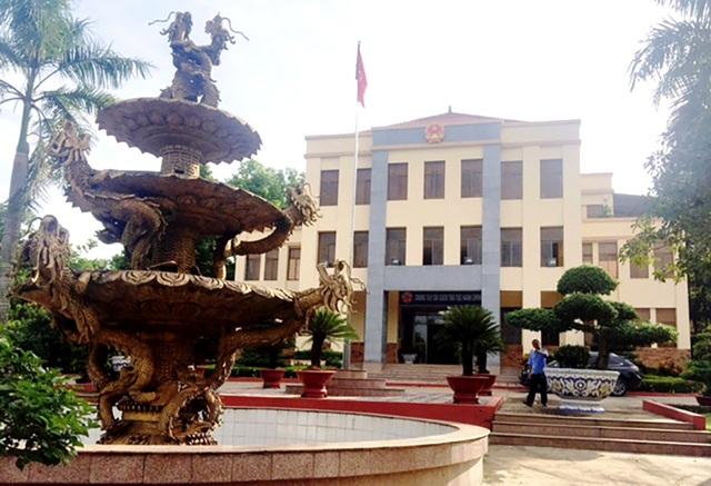 UBND thị xã Đồng Xoài, nơi nguyên Chủ tịch thị xã này được cho là đã bổ nhiệm thần tốc cho con trai.