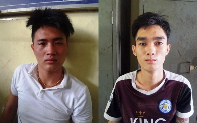 2 nghi can Dương Quốc Minh và Đàm Vĩnh Khang tại cơ quan công an