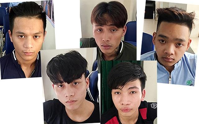 5 đối tượng trong nhóm truy sát bệnh nhân ở BV Đại học Y Hà Nội được cơ quan điều tra làm rõ. (Ảnh: CAND)