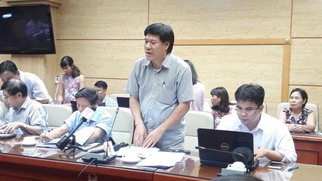 TS Nguyễn Nhật Cảm, Giám đốc Trung tâm y tế dự phòng Hà Nội. Ảnh: H.Hải