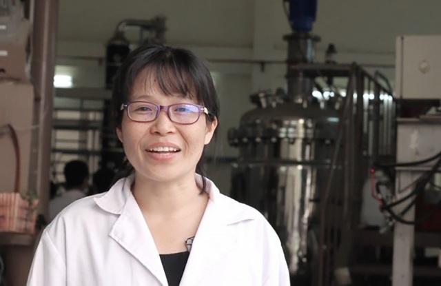 PGS.TS Lê Thị Kim Phụng từng tốt nghiệp xuất sắc và được giữ lại trường ĐH Bách khoa TP.HCM (ảnh: tạp chí Asian Scientist)