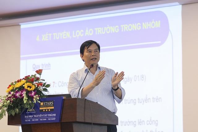 PGS-TS Trần Văn Nghĩa, Phó Cục trưởng Cục quản lý chất lượng Bộ GD-ĐT nói về việc lọc ảo