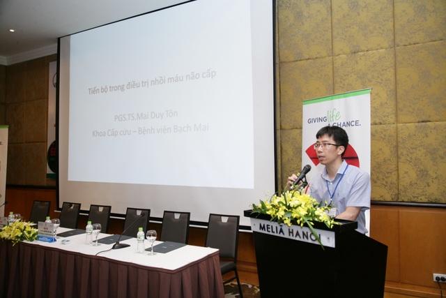 PGS.TS Mai Duy Tôn, khoa Cấp cứu (BV Bạch Mai). Ảnh: Thế Anh