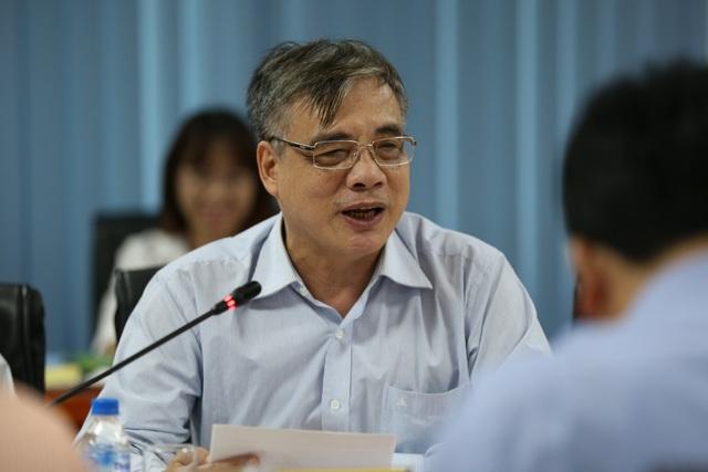 PGS, TS Trần Đình Thiên, Viện trưởng Viện Kinh tế Việt Nam, thành viên Tổ tư vấn Kinh tế của Thủ tướng Chính phủ
