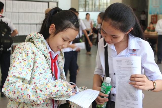 Thí sinh thi vào lớp 10 năm học 2017 - 2018 tại Đà Nẵng