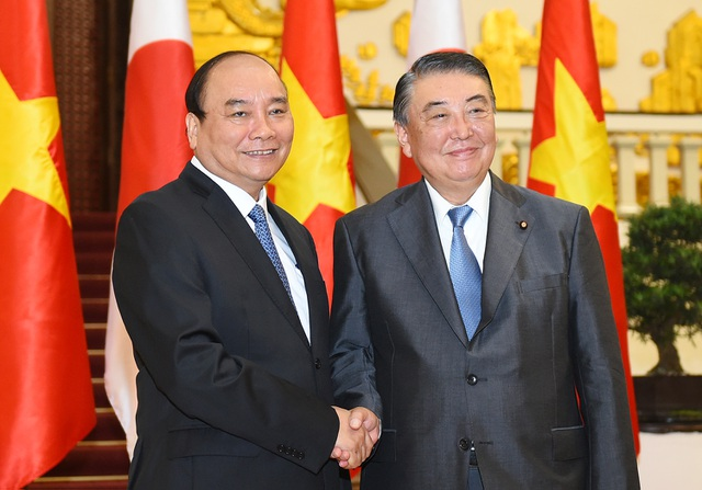 Thủ tướng tiếp Chủ tịch Hạ viện Nhật Bản Oshima Tadamori.