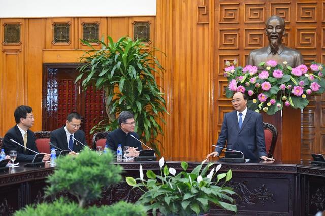 Trước cuộc gặp với Thủ tướng, các doanh nghiệp Hồng Kông đã được Bộ Giao thông vận tải giới thiệu về dự án đường cao tốc Bắc-Nam
