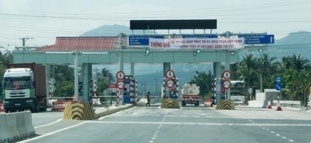 Trạm thu phí Ninh An (ảnh: Báo giao thông)