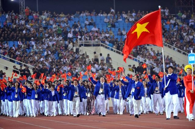 Thể thao Việt Nam có khá nhiều phó đoàn đi tham gia SEA Games 29