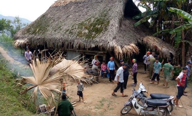 Ngôi nhà của nạn nhân, nơi xảy ra vụ việc. (Ảnh: CTV)