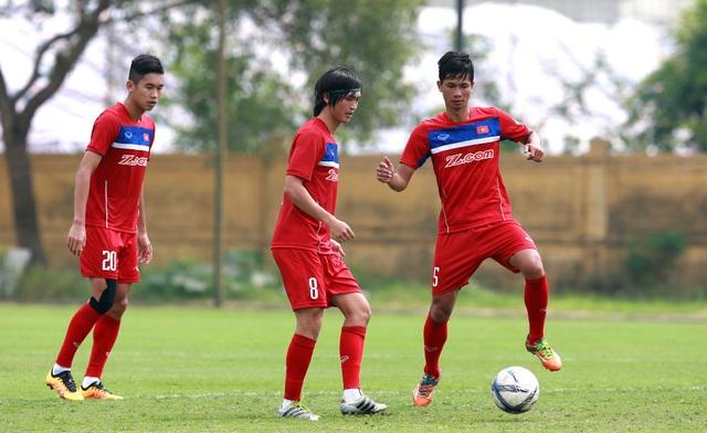 Tuấn Anh háo hức sau một thời gian dài vắng bóng ở U23 Việt Nam - Ảnh: Gia Hưng