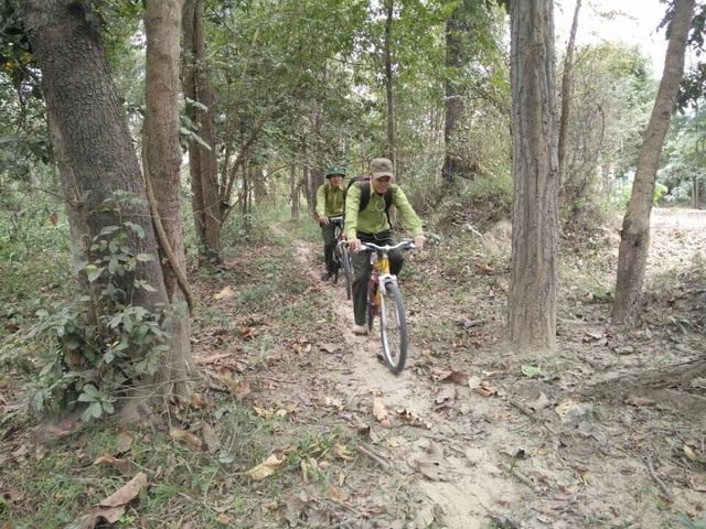 Tuần tra bằng xe đạp có nhiều ưu điểm