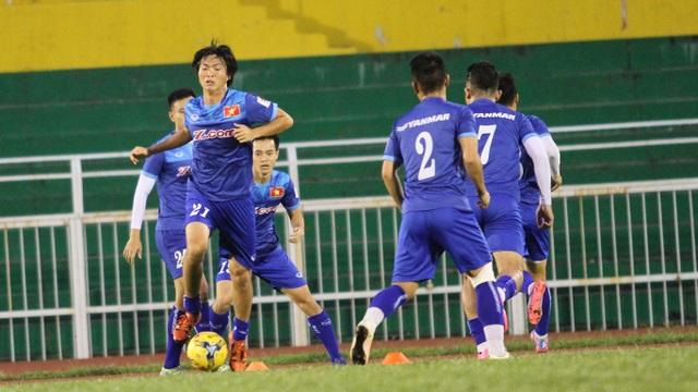Sự trở lại của Tuấn Anh sau chấn thương đáng được gọi là sự trở lại đáng chú ý nhất của bóng đá Việt Nam sau Tết Nguyên đán (ảnh: Trọng Vũ)