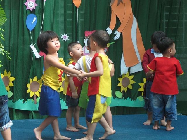 Trẻ tự kỷ tại Trường giáo dục đặc biệt Khai Trí, TPHCM trong các hoạt động tại trường