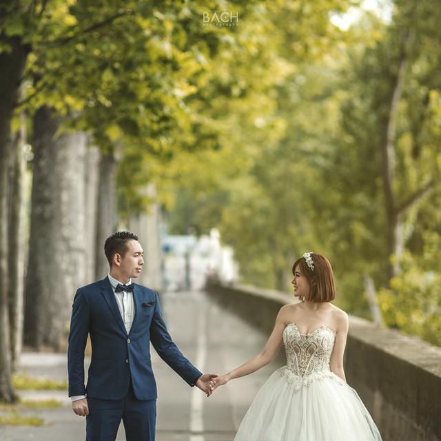 Khoe ảnh cưới ngọt ngào ở 3 nước, Tú Linh mơ về một gia đình nhỏ - 4