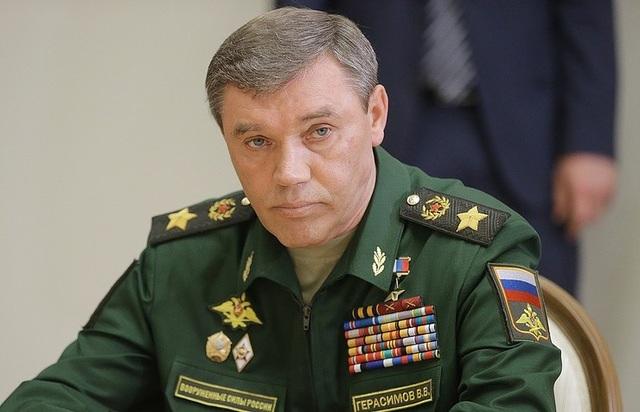 Tổng Tham mưu trưởng quân đội Nga Valery Gerasim. (Ảnh: TASS)