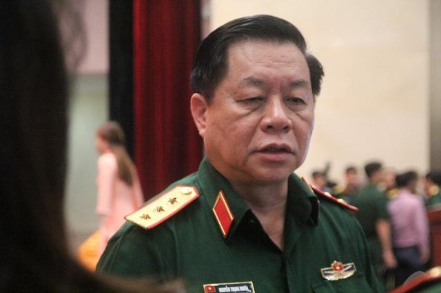 Thượng tướng Nguyễn Trọng Nghĩa – Phó Chủ nhiệm Tổng Cục Chính trị Quân đội nhân dân Việt Nam