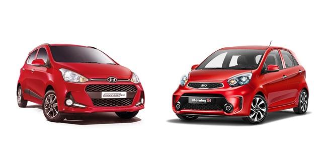 Cùng là tập đoàn lớn tại Hàn Quốc, nhưng tại Việt Nam, KIA và Hyundai do hai tập đoàn khác nhau phân phối.