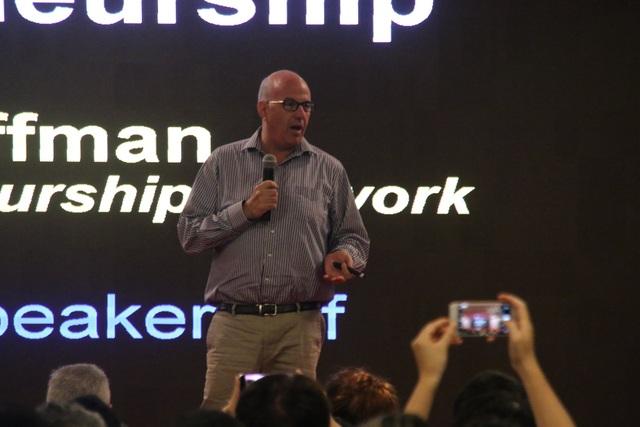 Tỷ phú Jeff Hoffman nói chuyện khởi nghiệp tại Đà Nẵng