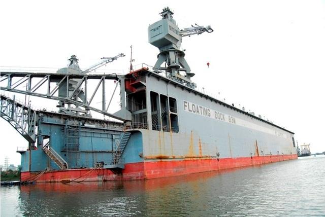 Sau khi bán thành công ụ nổi 83M với giá trị 38,5 tỷ đồng hồi năm ngoái, Vinalines Shipyard chỉ còn 2 nhân sự, không còn tài sản để hoạt động