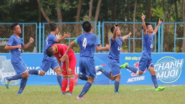 PVF vô địch giải bóng đá U15 quốc gia - cúp Thái Sơn Bắc 2017