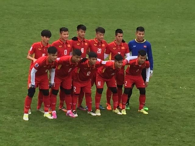 U20 Việt Nam đã sẵn sàng cho World Cup U20