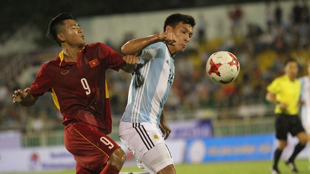 U20 Argentina khó tạo nên cơn sốt ở Hà Nội (ảnh: Trọng Vũ)