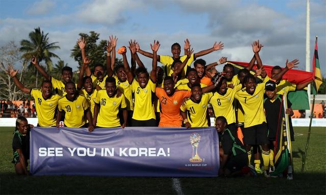U20 Vanuatu đứng nhì vòng loại khu vực châu Đại Dương