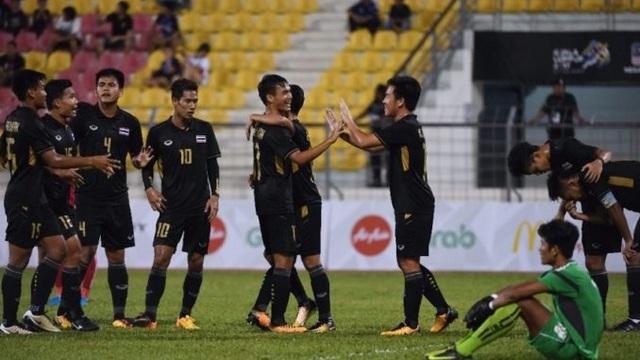 U22 Thái Lan thắng đậm Campuchia tại SEA Games 29