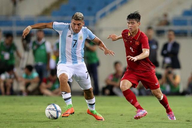 Theo cựu HLV Nguyễn Thành Vinh, lẽ ra U23 Việt Nam không nên đá với U20 Argentina trong bối cảnh thiếu sự chuẩn bị (ảnh: Gia Hưng)