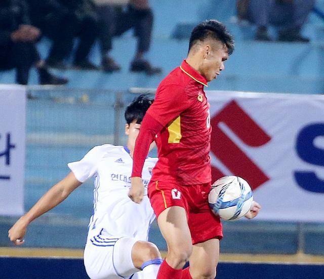Khoảng cách giữa các vị trí chính thức và dự bị ở đội tuyển U23 Việt Nam vẫn khá lớn