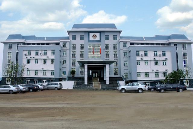 Trụ sở UBND huyện Sông Lô, tỉnh Vĩnh Phúc.