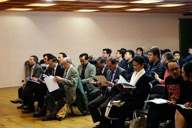 Đại hội lần 7 UEVF diễn ra tại Cơ sở 2 Đại sứ quán Việt Nam tại Pháp