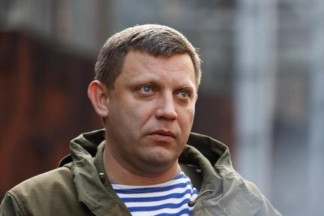 Nhà lãnh đạo Cộng hòa Nhân dân Donetsk (DPR) tự xưng Alexander Zakharchenko, (Ảnh: Reuters)