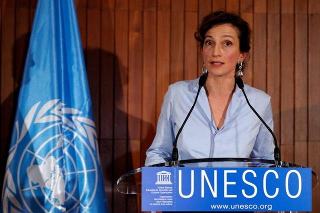 Bà Audrey Azoulay đắc cử Tổng giám đốc UNESCO (Ảnh: Reuters)