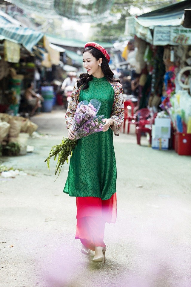 Á hậu Hà Thu bồi hồi nhớ Tết tuổi thơ ở cố đô Huế - 6