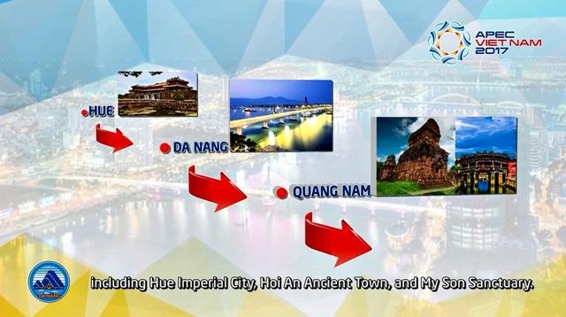 Đà Nẵng là một tong những đô thị lớn và nằm trên hành trình kết nối 3 di sản văn hóa của miền Trung Việt Nam