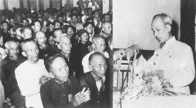 Bác Hồ nói chuyện với hơn 400 đại biểu đại diện các tầng lớp nhân dân, các dân tộc các tôn giáo Thanh Hóa, ngày 13/6/1957.