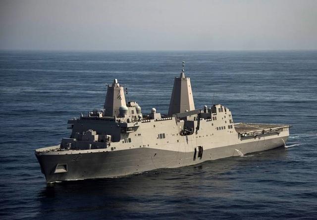Tàu Hải quân Mỹ USS San Diego (Ảnh: Hải quân Mỹ)