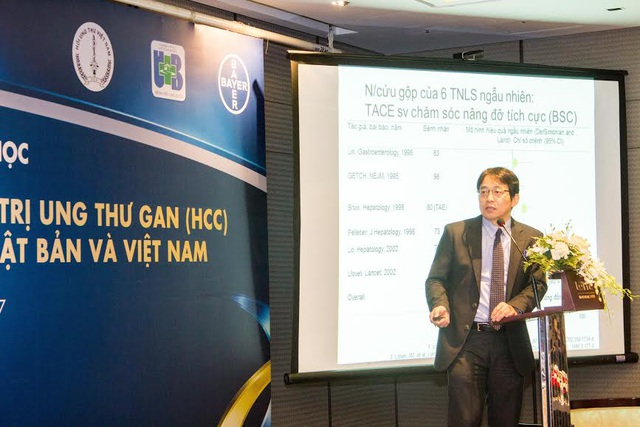 GS. BS. Masatoshi Kudo, Đại học Y khoa Kindai, Osaka, Nhật Bản chia sẻ thực tế điều trị ung thư gan tại Nhật Bản