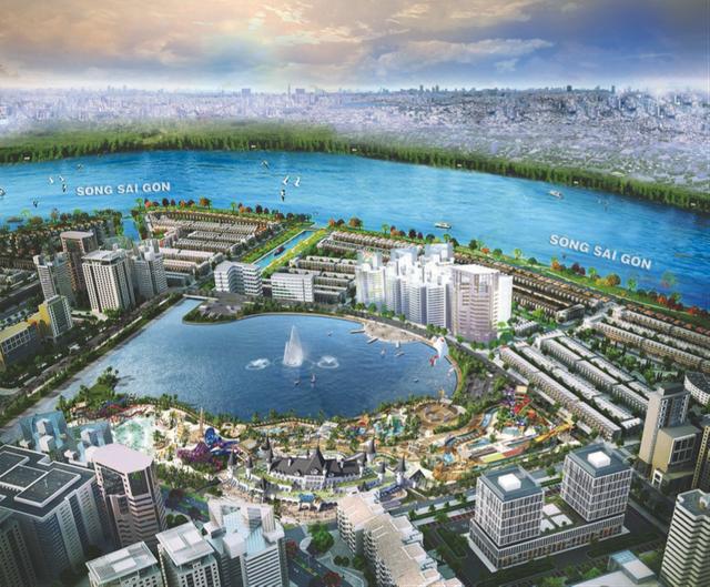 Công viên giải trí tầm cỡ quốc tế – Ocean World Ho Chi Minh 21ha ngay trung tâm khu đô thị Vạn Phúc.