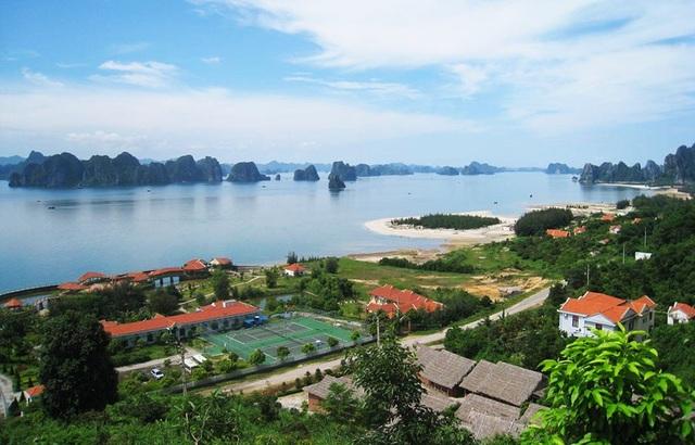 Một góc Vân Đồn (Quảng Ninh), đặc khu được xác định là trung tâm du lịch của các tỉnh phía Bắc